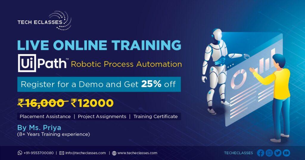 RPA UiPath Online Trainings