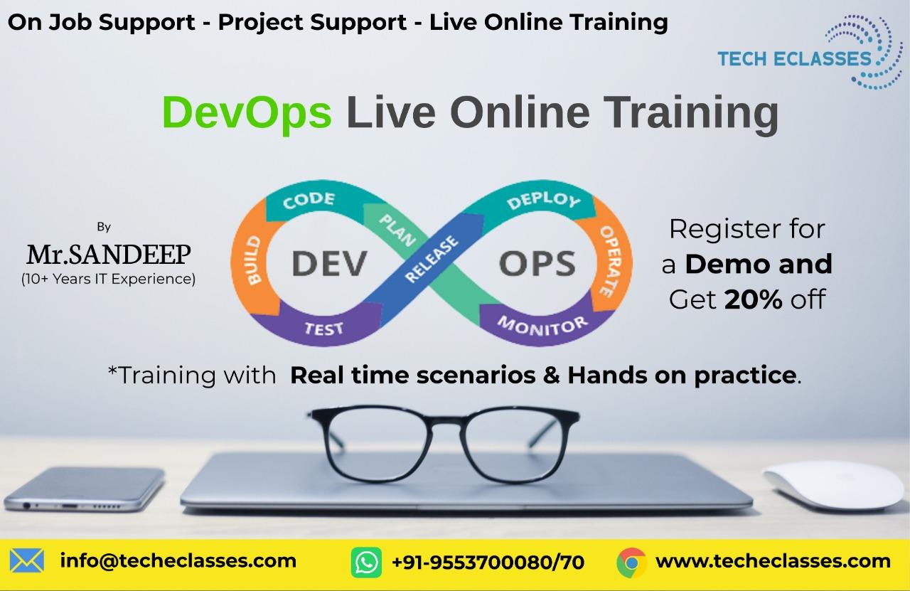 DevOps online trainings - Tech Eclasses