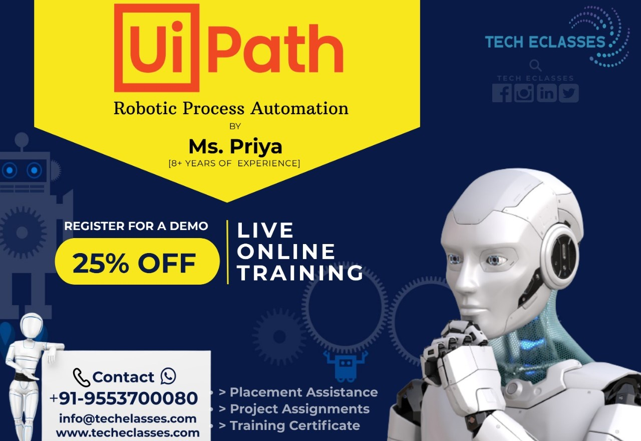Ui Path RPA by Tech EClasses