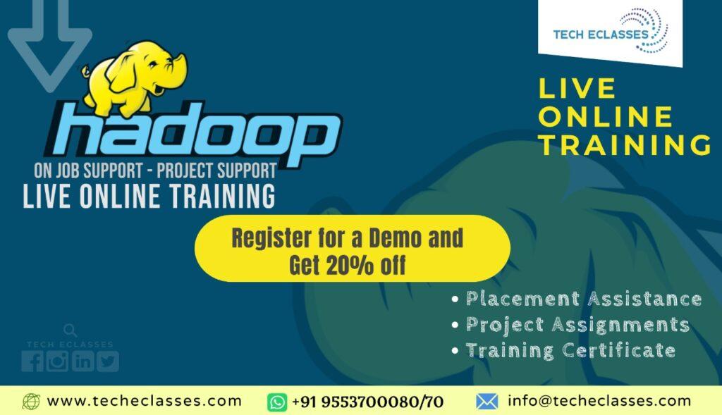 Hadoop live online training