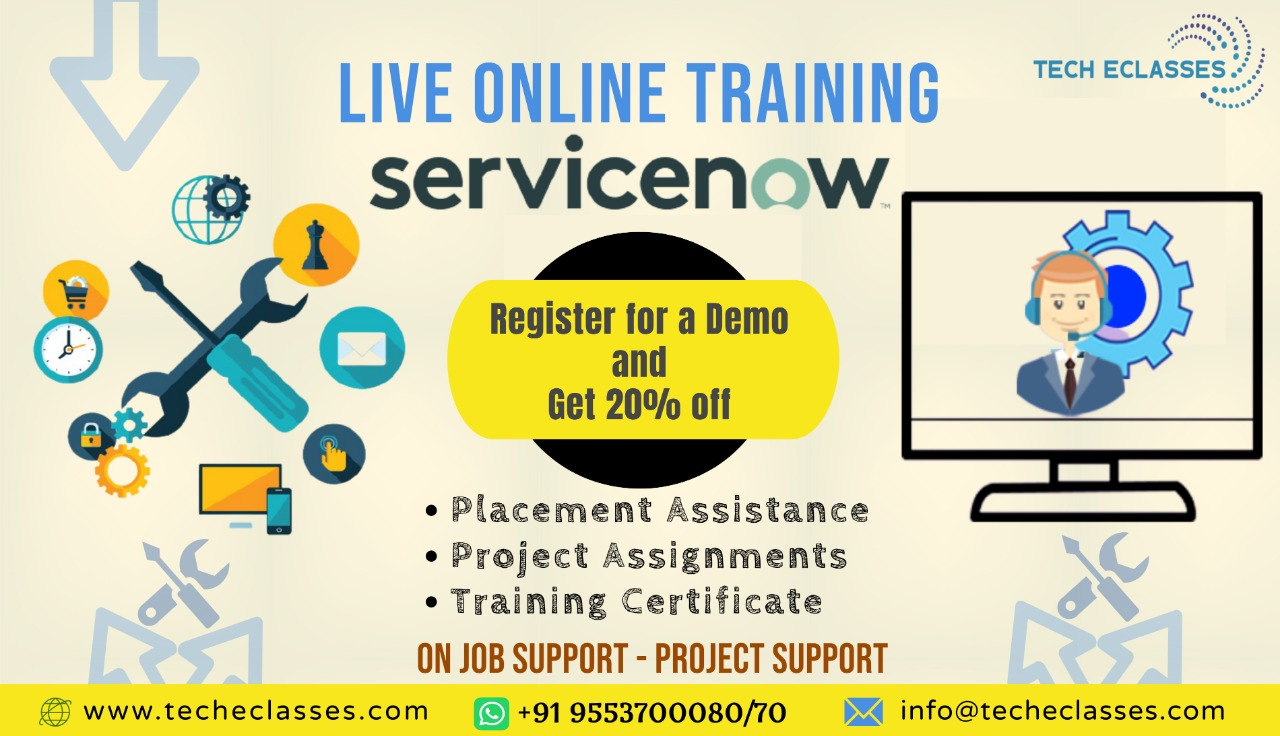 ServiceNow Online Trainings